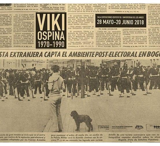 Viki Ospina, de blanco ante la vida