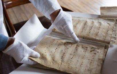 El archivo musical de la Catedral Primada de Bogotá