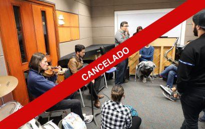 Cancelado: concierto Ensamble de jazz, a cargo de Adrián Herrera