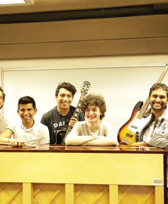 Concierto Ensamble de Jazz, Óscar Acevedo