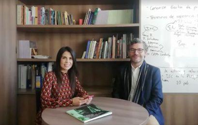Dos formas de conocimiento que se potencian entre ellas: investigación + creación según Oscar Hernández, amigo de nuestro Centro de investigación y creación CIC