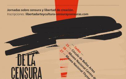 Jornadas sobre censura y libertad de creación