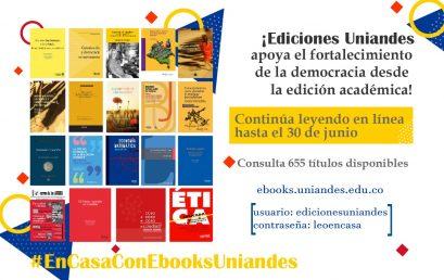 En casa con Ebooks Uniandes