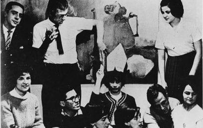 El rol de artistas y literatos en 70 años de Los Andes