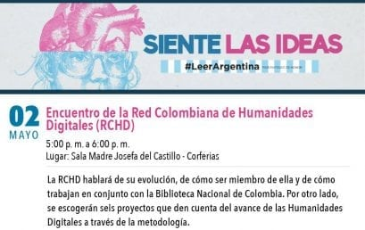 Encuentro de la Red Colombiana de Humanidades Digitales en la Filbo
