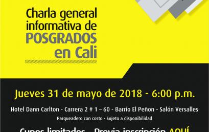 La Universidad de los Andes visita Cali 2018