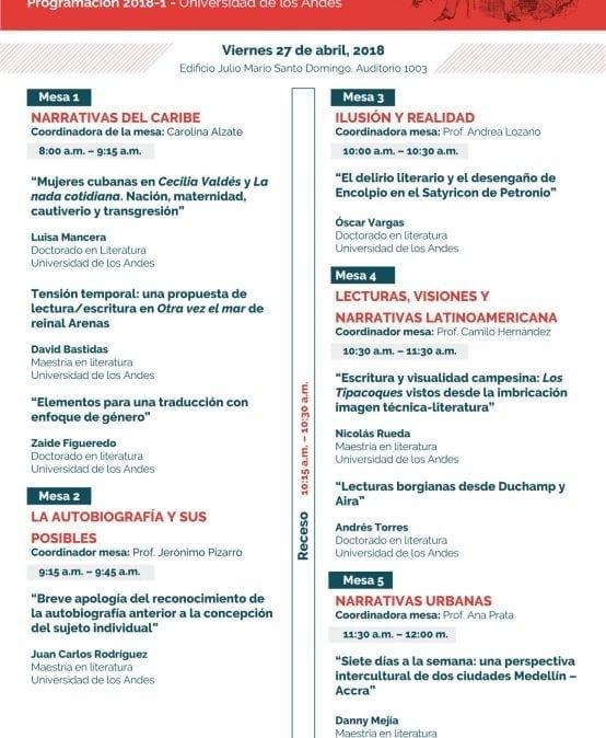 Coloquio de Posgrado: Departamento de Humanidades y Literatura