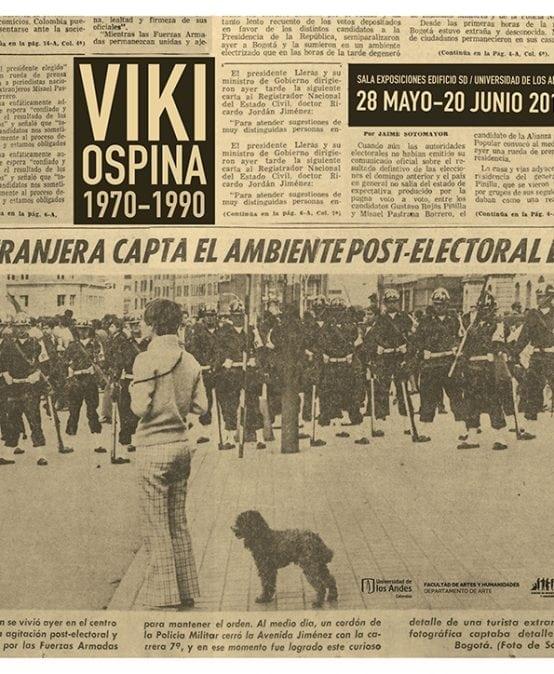 Exposición Viki Ospina 1970 – 1990