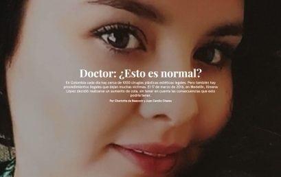 Reportaje Doctor: ¿Esto es normal? del Ceper, nominado al Premio Roche de periodismo en Salud