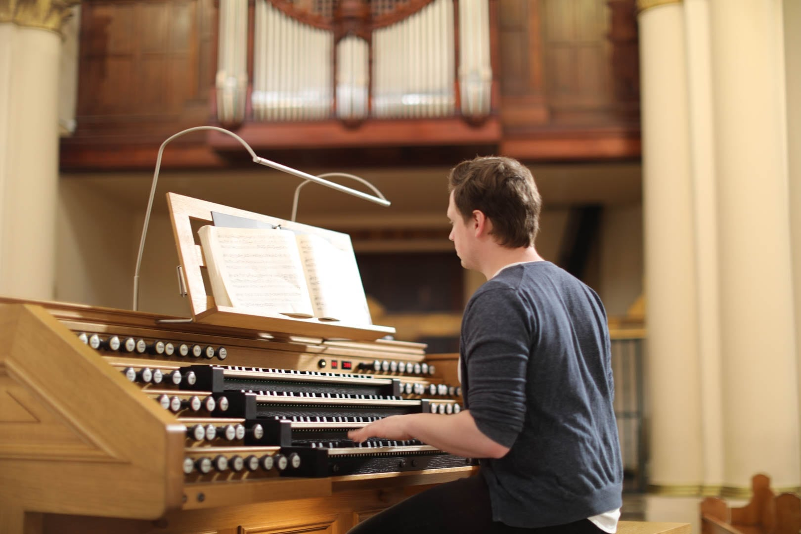 Programa en órgano y música litúrgica