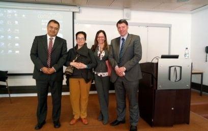 Mónica Acebedo defendió su tesis doctoral