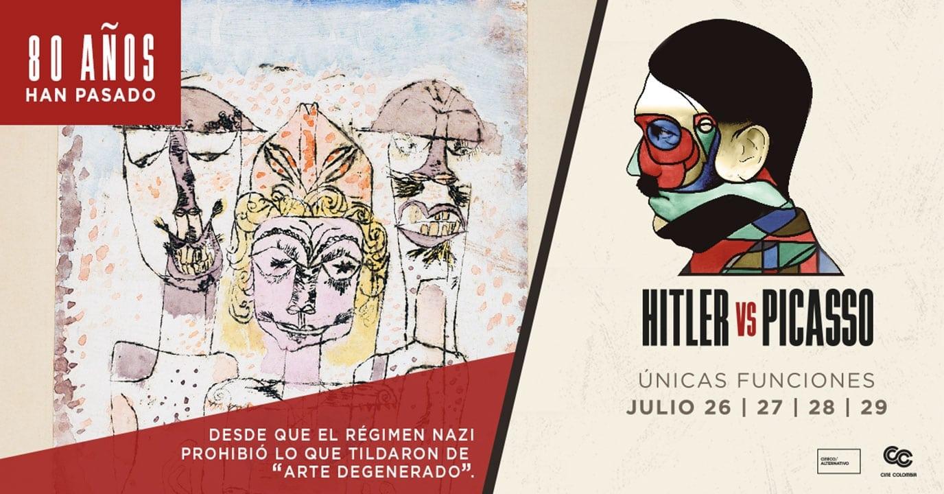 Estreno del largometraje Hitler vs Picasso y Ciclo de Verano de la MEtOpera