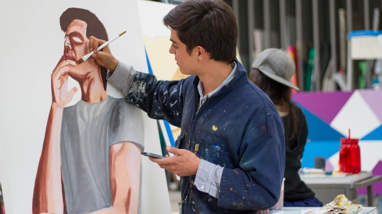 Taller de pintura experimental