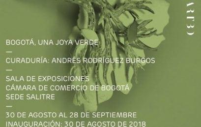 Bogotá, una joya verde. Exposición curada por Andrés Rodriguez, estudiante de la Maestría en Historia del Arte