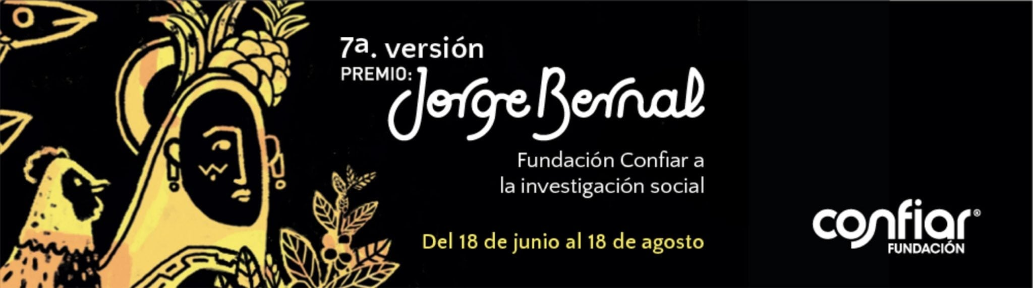 Séptima convocatoria del Premio Jorge Bernal