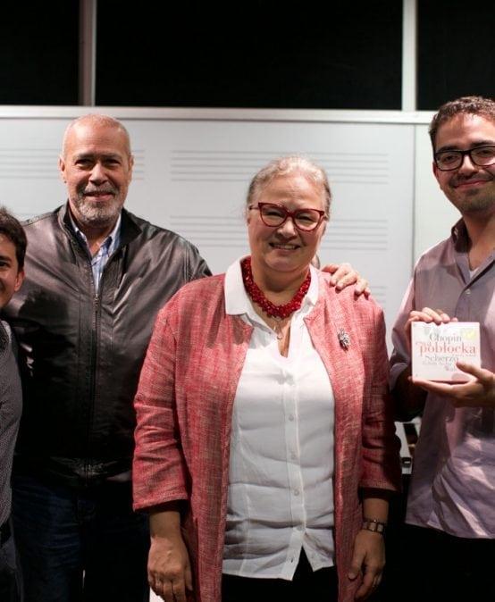 Galería: Ewa Pobłocka, pianista polaca, visitó la Universidad de los Andes