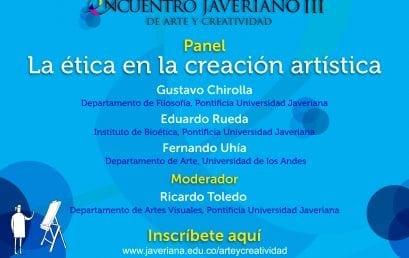 Panel: La ética en la creación artística