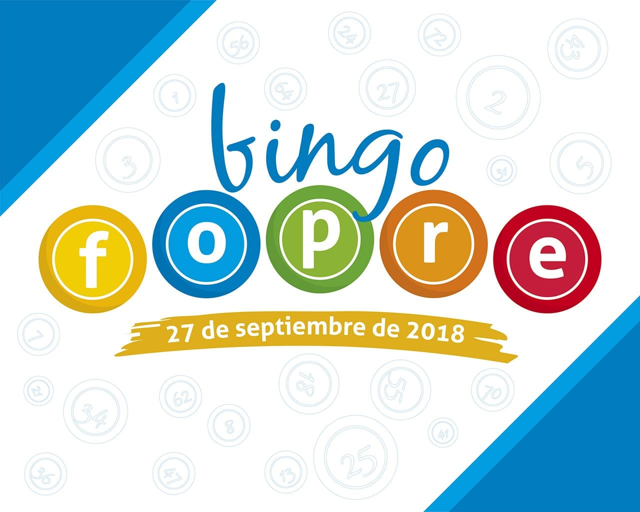 Juegue el Bingo Fopre en el día del estudiante