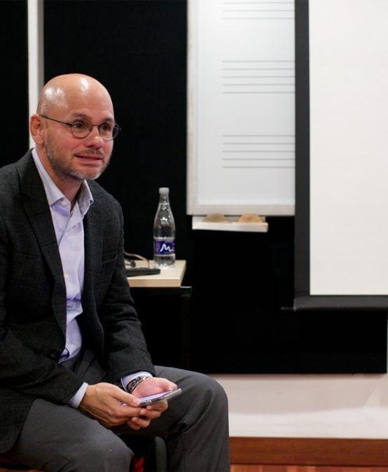 Galería: Taller con el tenor David Guzmán para estudiantes de canto