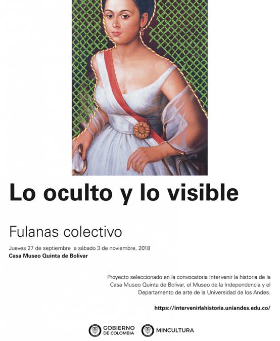Exposición Lo oculto y lo visible de Fulanas colectivo