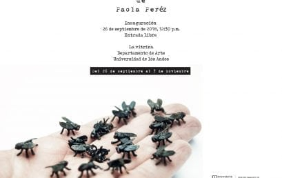 Exposición existencias fundamentales de Paola Peréz