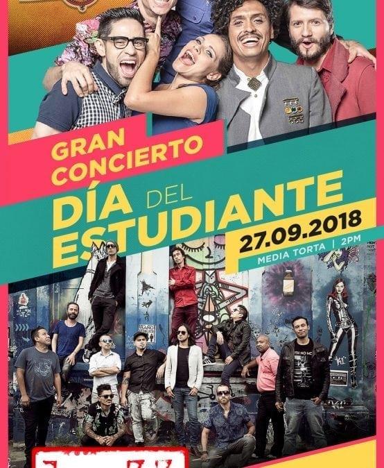 Gran concierto día del estudiante