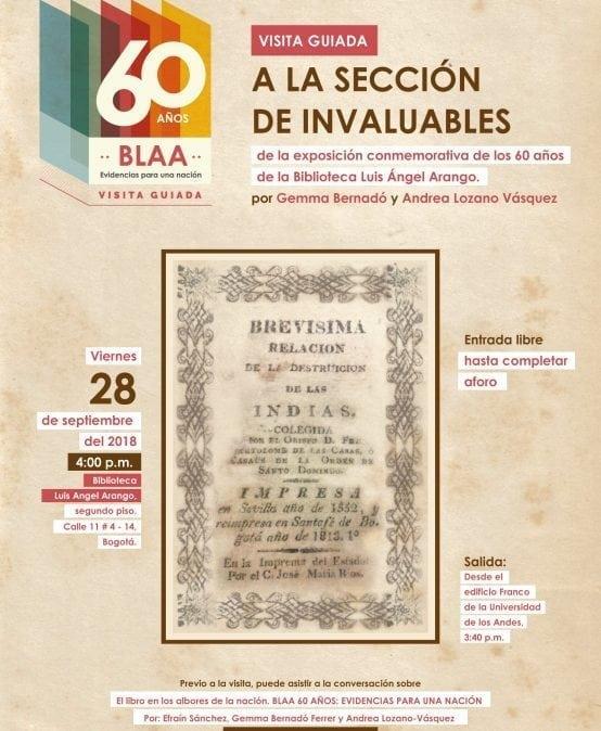 Visita guiada – 60 años BLAA Evidencias de una nación