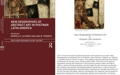 Lanzamiento del libro New Geographies of Abstract Art in Postwar Latin America