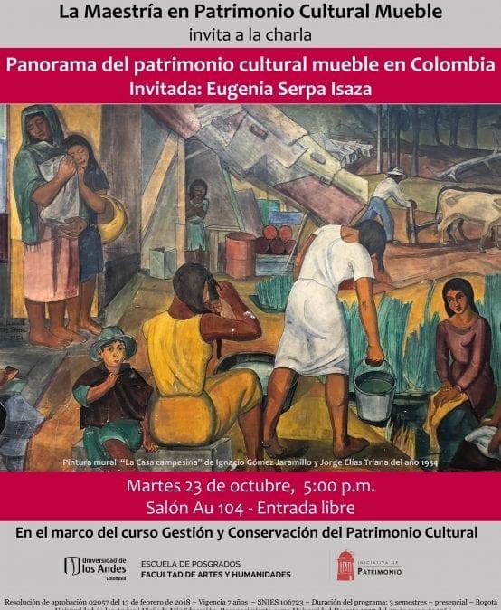 Panorama del patrimonio cultural mueble en Colombia