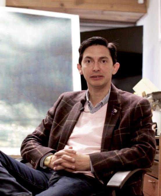 Esteban Peña, profesor de Arte, participa en ArtBo 2018
