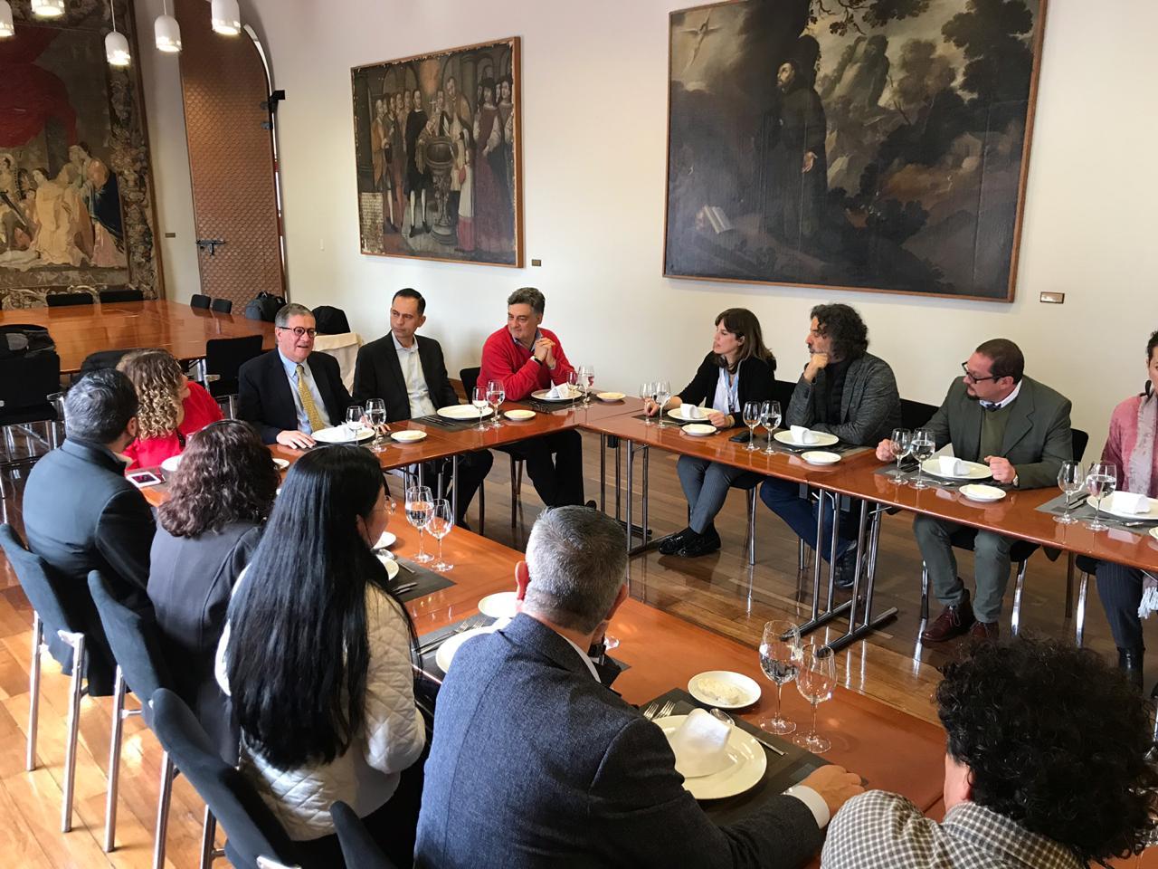 Visita del Tecnológico de Monterrey a la Universidad de los Andes