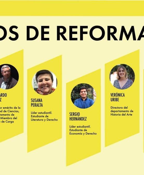 Hablemos de Reforma: Conversatorio sobre la Reforma Académica