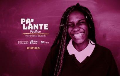 Done a la campaña Pa'lante Pacífico de Quiero Estudiar