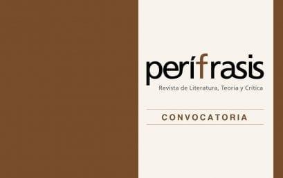 Convocatoria dossier Poéticas digitales latinoamericanas – Perífrasis