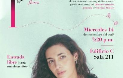 Conversatorio con Fernanda Trías sobre el libro No soñarás flores