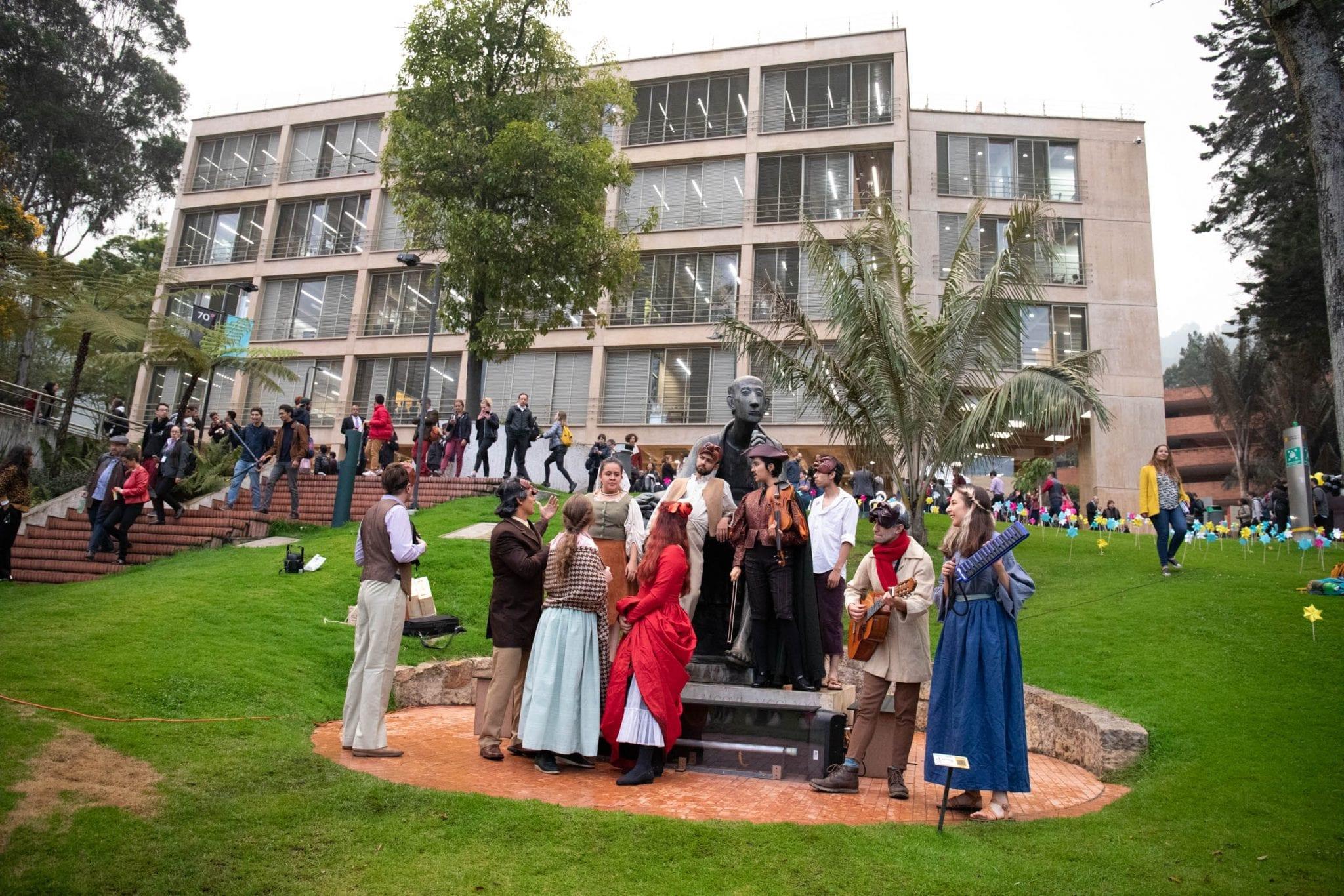 Galería: Así fue la fiesta de El Bobo y el cumpleaños de la Universidad de los Andes