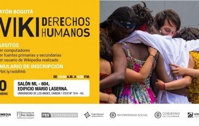 Editatón Bogotá, WIKI derechos humanos