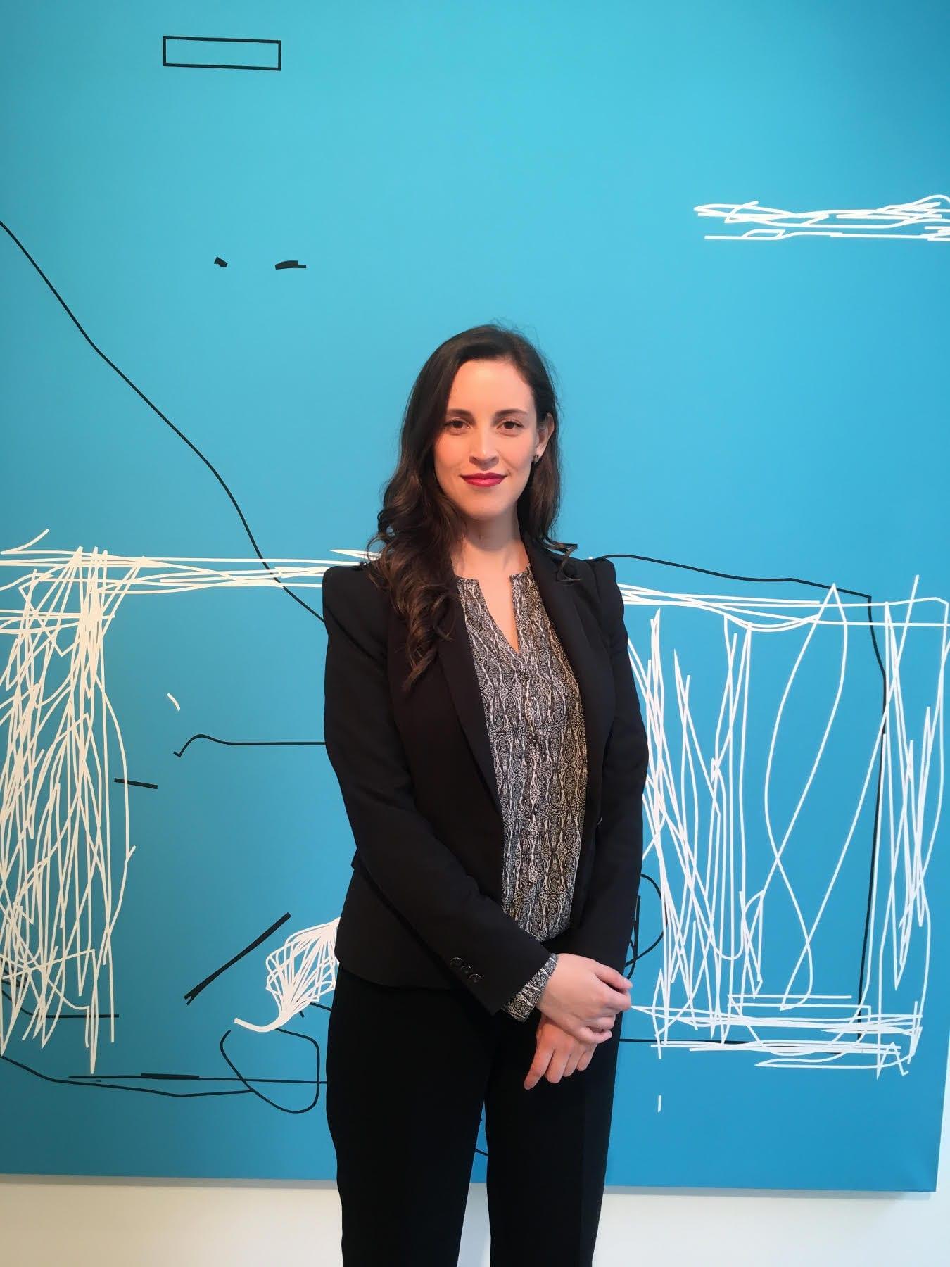 Laura Zarta, egresada destacada del Pregrado en Arte