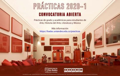 Convocatoría para practicantes | Banco de Archivos Digitales de Artes en Colombia – BADAC
