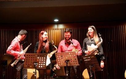 Concierto: Cuarteto de saxofones y Ensamble de metales