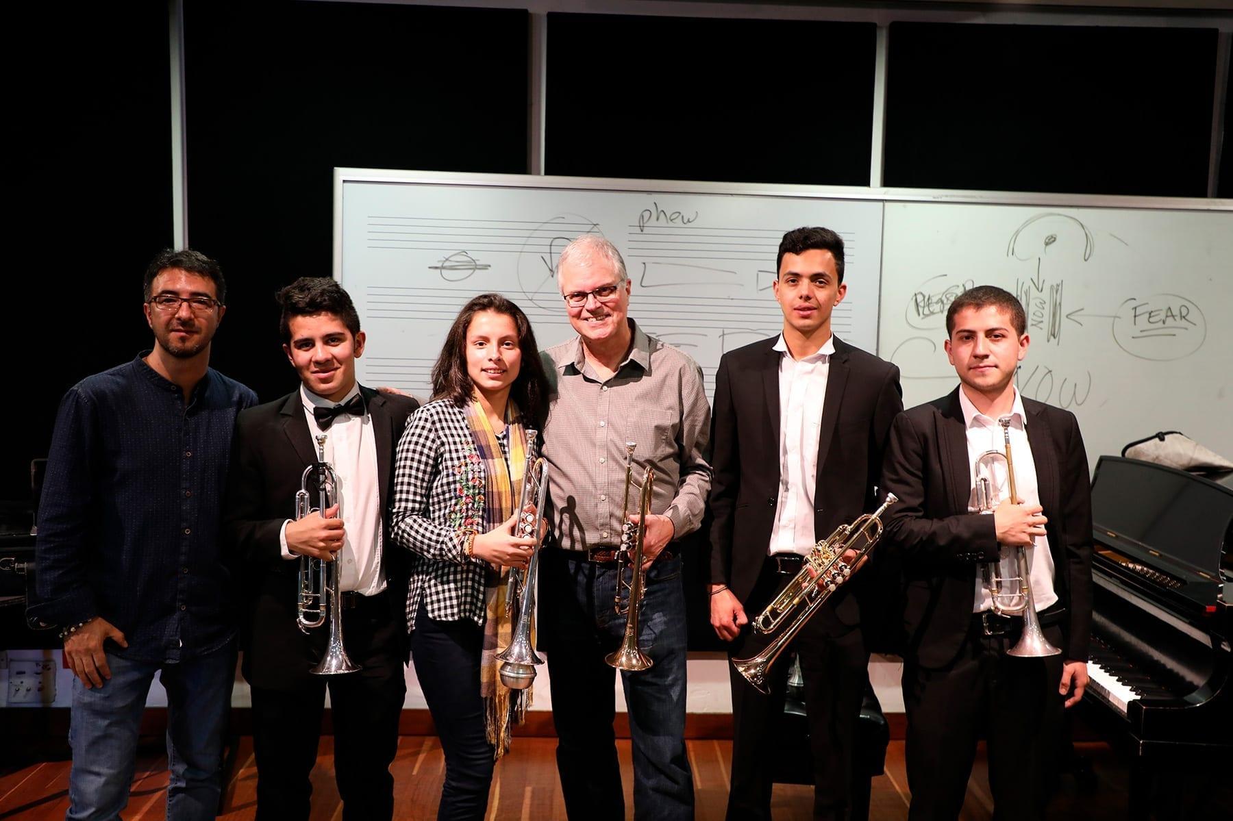 Galería: Clase magistral con el trompetista Wiff Rudd
