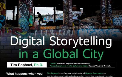 Charla inaugural 2019 – Digital Storytelling in a global city