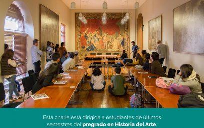 Charla informativa de la Maestría en Historia del Arte