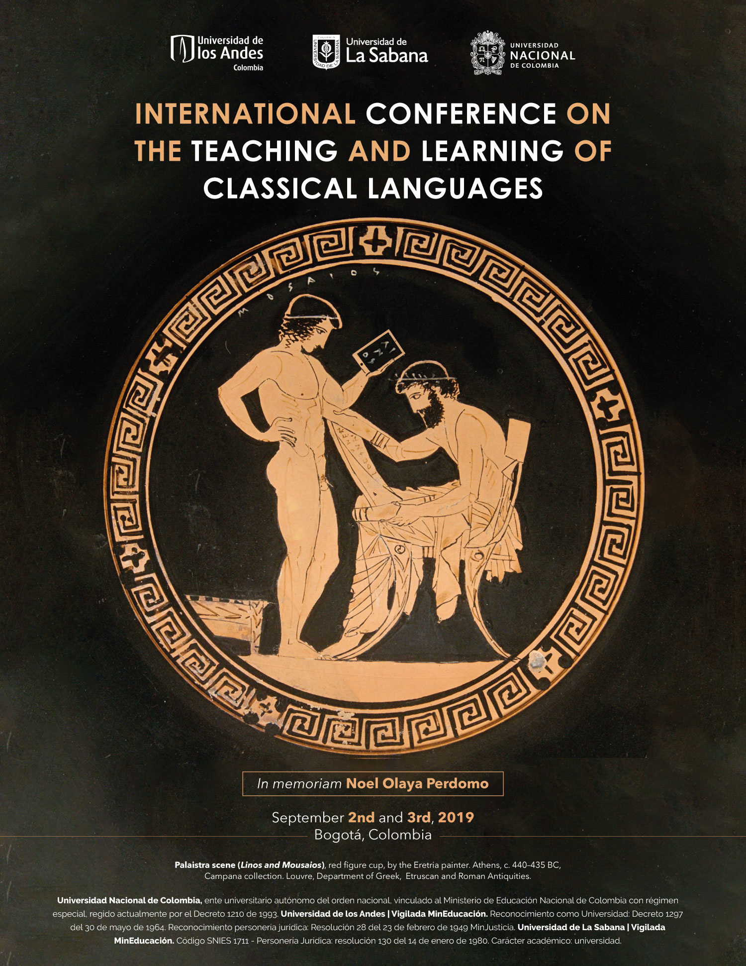 Call for papers – International Conference on the Teaching and Learning of Classical Languages