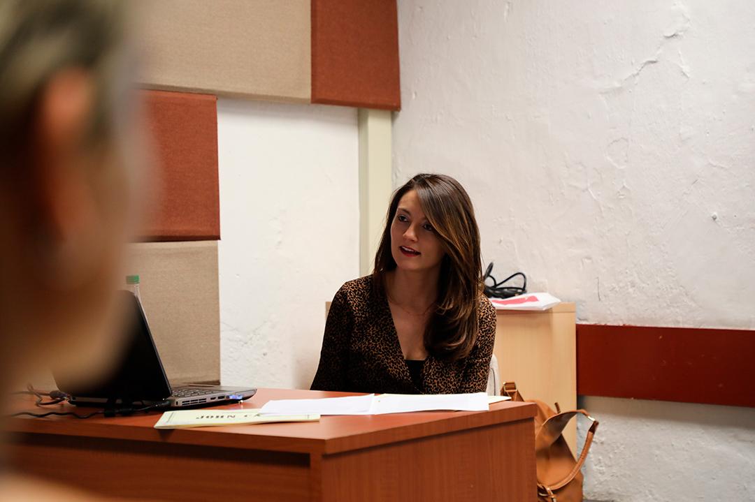 "Galería: Seminario-taller ""Decodificación y lectura de partituras contemporáneas"" con Ana Mª Villamizar"