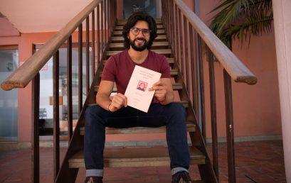 Alejandro Giraldo, estudiante de la Maestría en Literatura, tradujo los trabajos de Adilia Lopes
