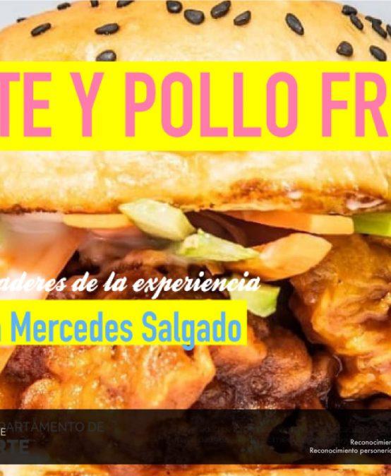 Charla Arte y Pollo Frito de María Mercedes Salgado
