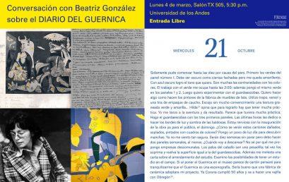 Una conversación con Beatriz González sobre el Diario del Guernica