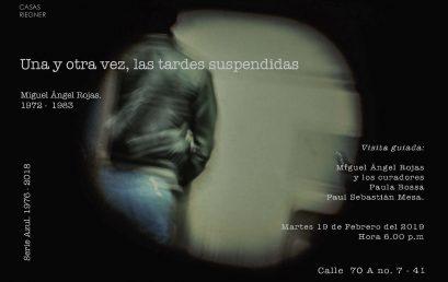 Conversatorio con Miguel Ángel Rojas en el marco de su exposición en Casas Reigner