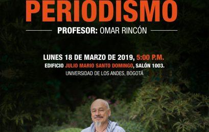 Master class: Maestría en Periodismo